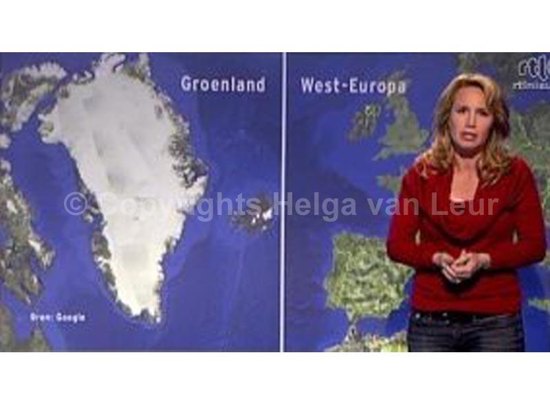 aankondiging op RTL: Groenland is net zo groot als heel West-Europa